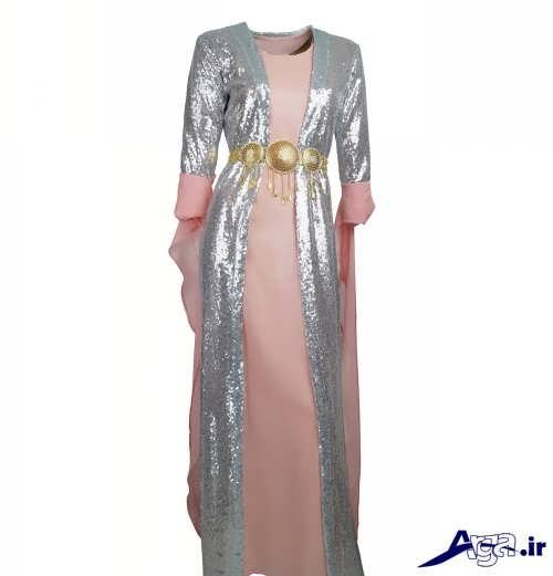 مدل لباس دو رنگ کردی