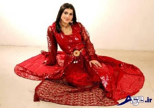 مدل لباس قرمز کردی