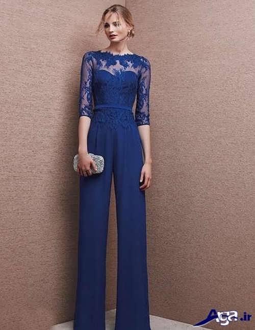 مدل لباس شب ریون و گیپور