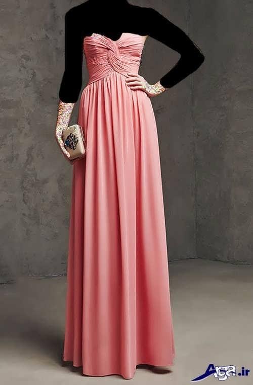 مدل لباس دکلته ریون