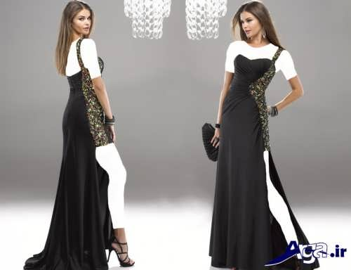 مدل لباس شیک و زنانه مشکی