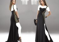 مدل لباس شب ریون جدید و شیک