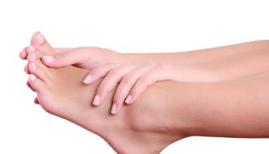 علت داغ شدن کف پا و روش درمان آن