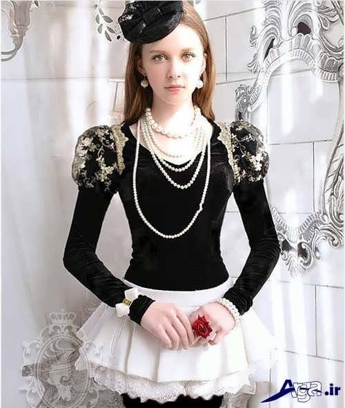 مدل لباس دخترانه فانتزی جدید