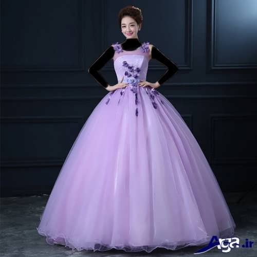 مدل لباس مجلسی بلند فانتزی