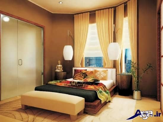 فنگ شویی رنگ دیوار در اتاق خواب
