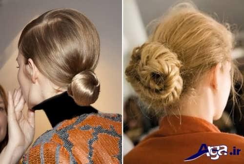 مدل موی بسته دخترانه شیک و جذاب