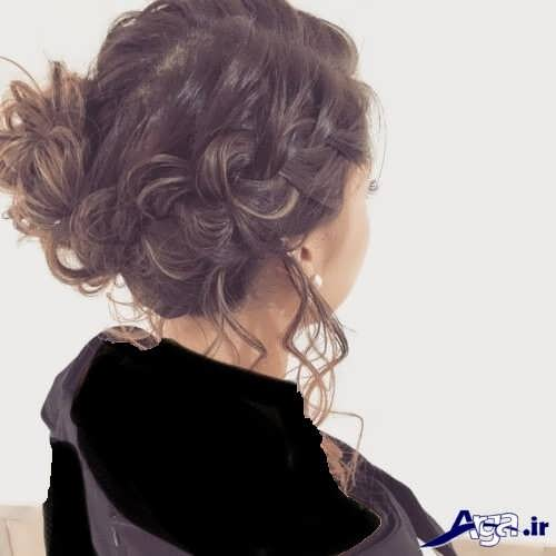 مدل موی فر بسته