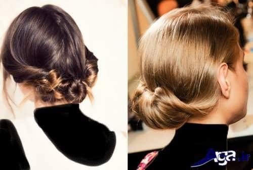 مدل موهای بسته دخترانه