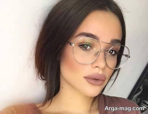 مدل گرد عینک طبی دختران