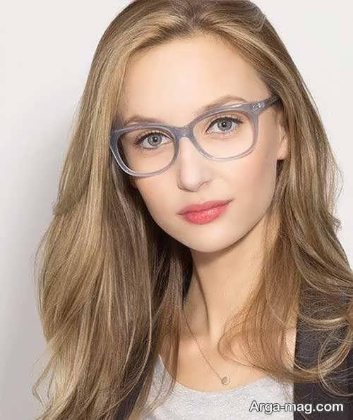 مدل عینک طبی دخترانه خاص