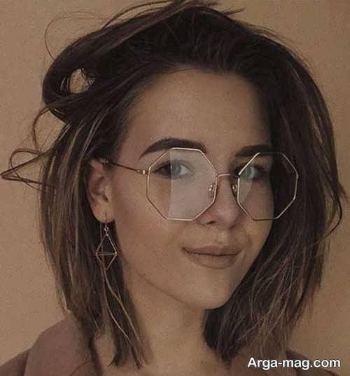 مدل جدید عینک طبی دختران