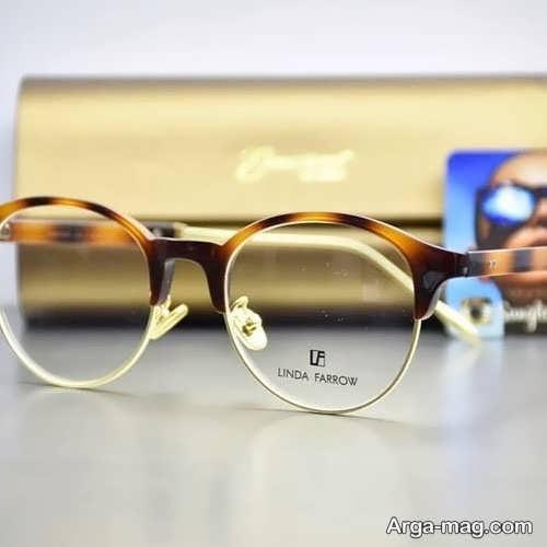 مدلی زیبا از عینک طبی دختران