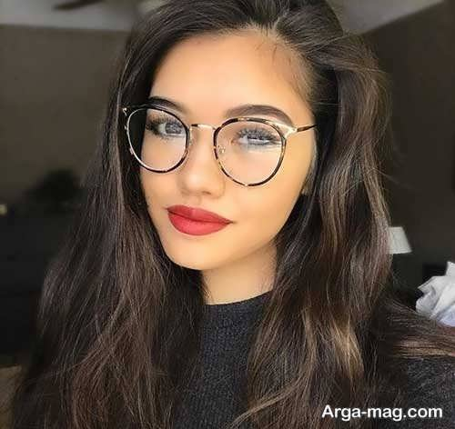 انواع مدل عینک طبی دختران