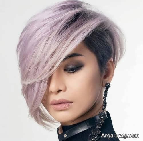 رنگ موی دخترانه دوست داشتنی