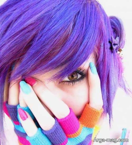رنگ مو دخترانه جذاب