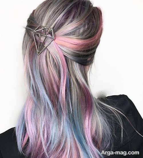 مدل های جالب از رنگ موی دخترانه