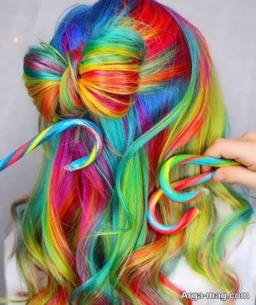 مدل های تماشایی از رنگ موی دخترانه