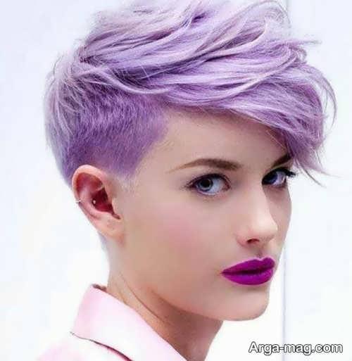 مدل های فانتزی از رنگ موی دخترانه