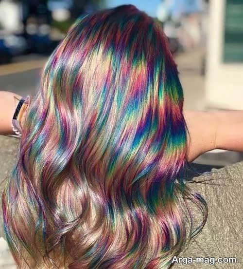 مدل های ایده آل از رنگ موی دخترانه