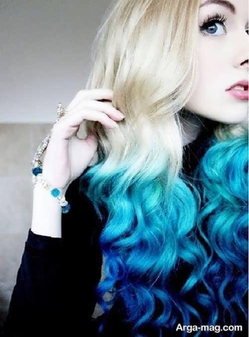 مدل های به روز از رنگ موی دخترانه