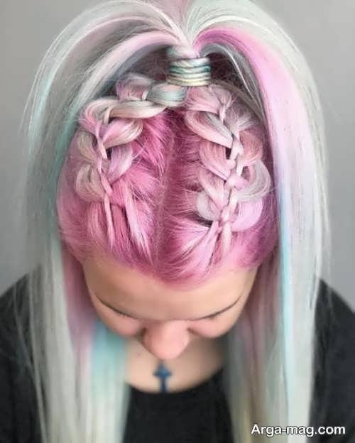 رنگ موی دخترانه منحصر به فرد