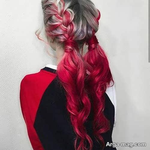 رنگ مو دخترانه متفاوت