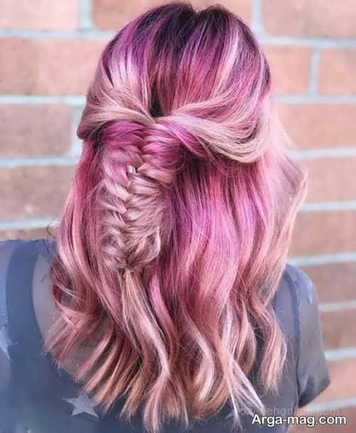 جدیدترین رنگ موی دخترانه