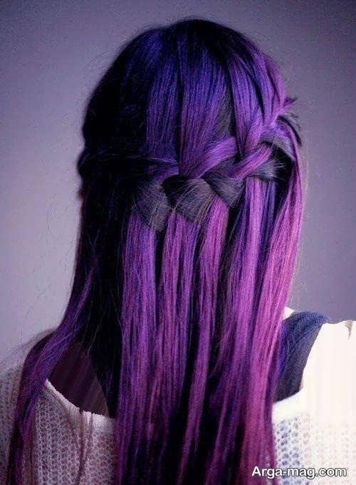زیباترین رنگ موی دخترانه