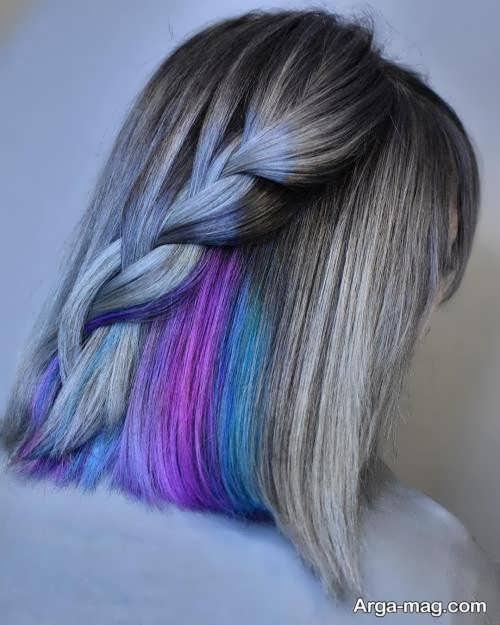 متفاوت ترین رنگ موی دخترانه