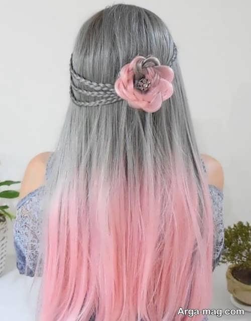 منحصر به فرد ترین رنگ موی دخترانه