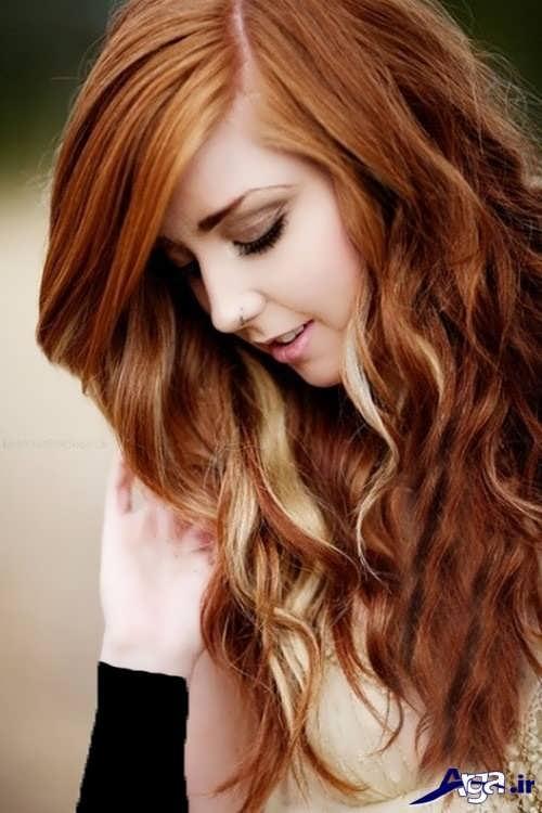 رنگ مو دخترانه شیک