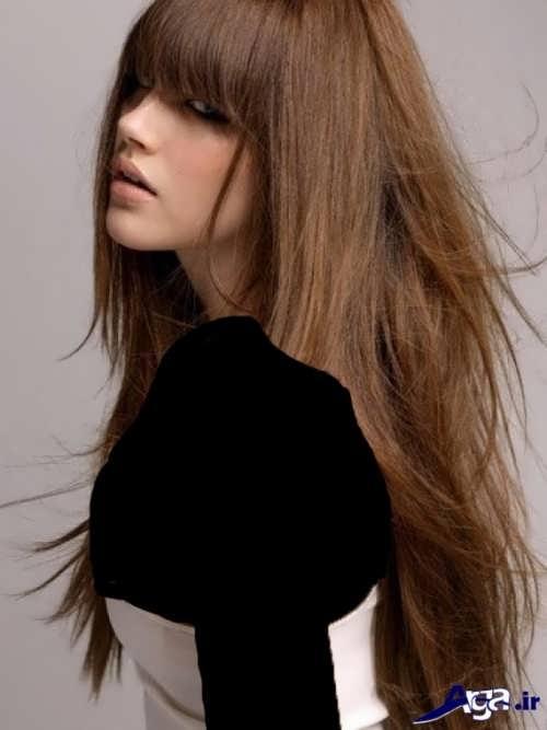 رنگ موی متفاوت و شیک دخترانه