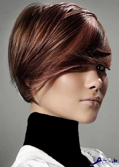 رنگ موی تیره و زیبا دخترانه