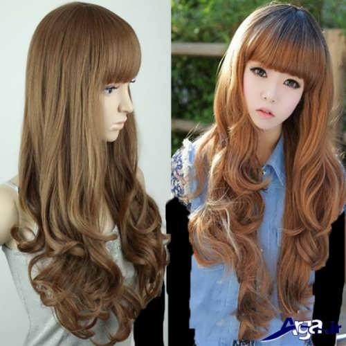 انواع مدل های رنگ موی دخترانه