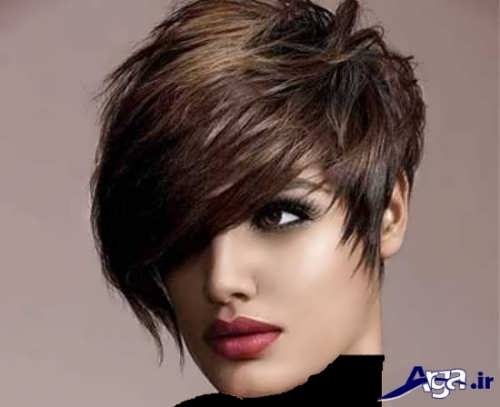 رنگ موی تیره و شیک دخترانه