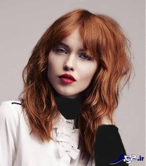 مدل جلو مو برای موهای فر