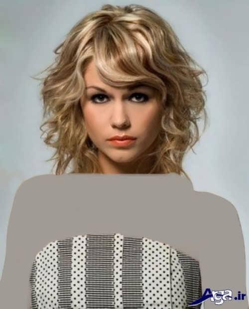 مدل کوتاهی موی جلوی سر برای موهای فر