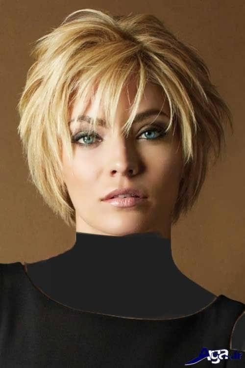 مدل موی کوتاه و متفاوت
