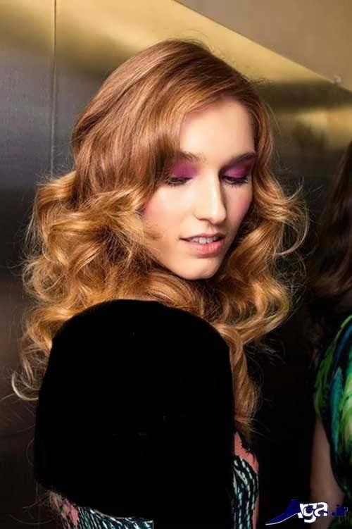 مدل موی شیک و زیبا برای صورت کشیده
