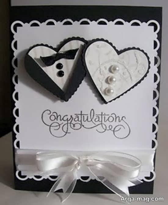 ساخت کارت عروسی خلاقانه