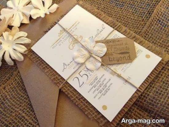 کارتهای عروسی دست ساز مدرن
