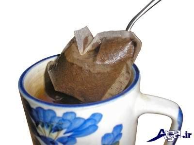 درمان خانگی دندان درد با چای کیسه ایی