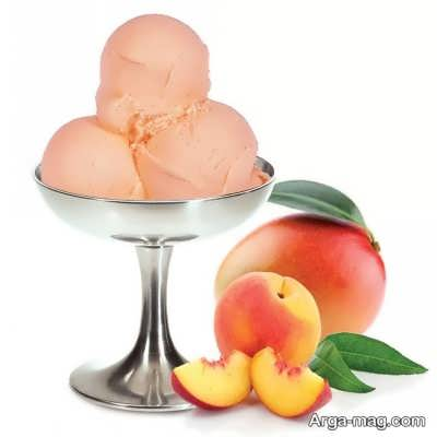 دستور تهیه بستنی میوه ای
