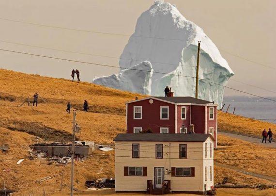 کوه یخ کانادا