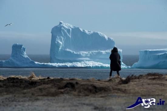 تصاویر کوه یخ کانادا