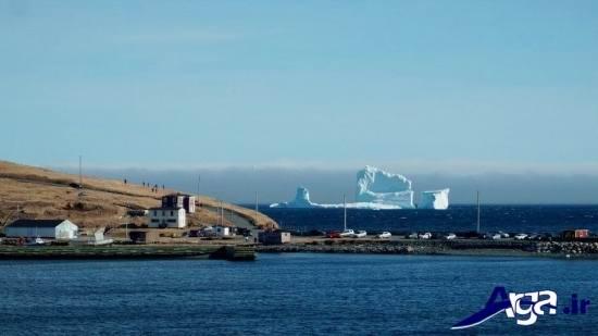 تصاویر کوه یخ