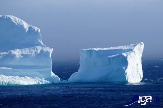 کوچه کوه یخ در کانادا