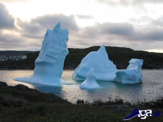عکس های کوه یخ در کانادا