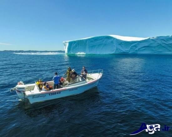 کوچه کوه یخ کانادا